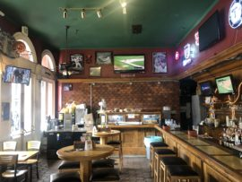 Sports bar takeover by Finnegan's