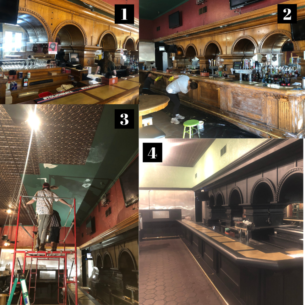Finnegan's Pub in Old Sacramento Remodel pictures.